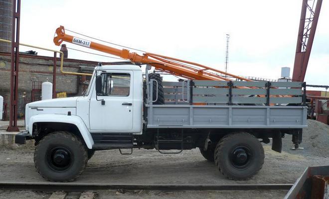 ГАЗ-33081 бурильный