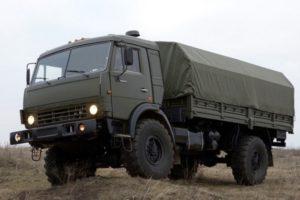 Полноприводной двухосный грузовой автомобиль КамАЗ-4326