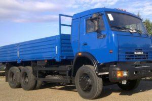Грузовые автомобили на базе универсального шасси КамАЗ-53215