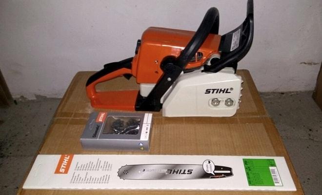 Комплектация мотопилы Stihl