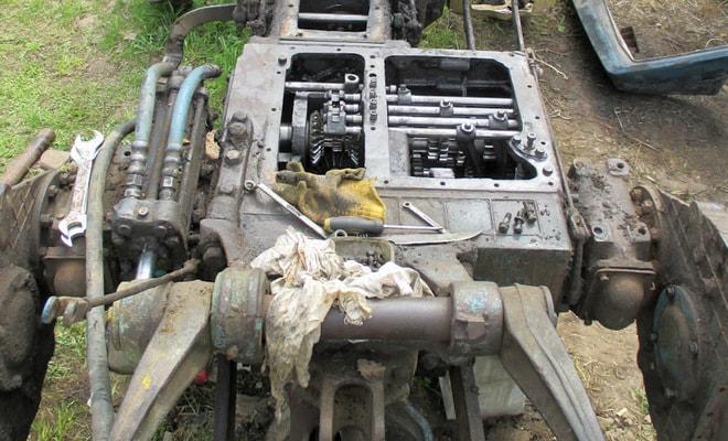 Коробка переключения передач Т-40