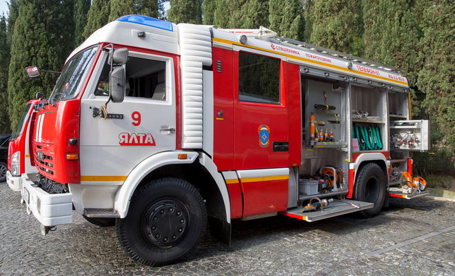 Машина для тушения пожаров