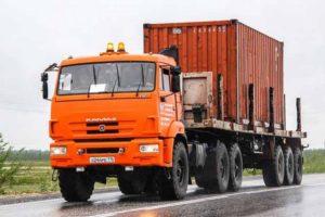 Технические характеристики и недостатки седельного тягача КамАЗ-44108