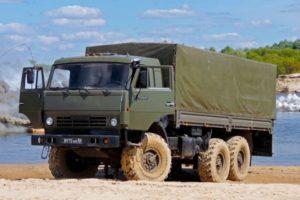 Характеристики военных и гражданских модификаций грузовика КамАЗ-53501
