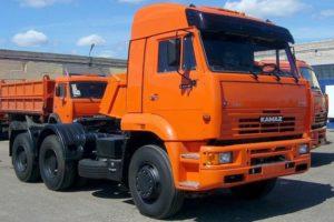 Российский седельный тягач КамАЗ-6460 и его модификации