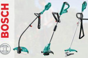 ТОП-6 популярных представителей модельного ряда триммеров Bosch