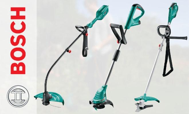 Модельный ряд мотокос Bosch