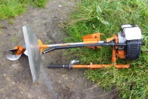 Как своими руками сделать лодочный мотор из садового триммера