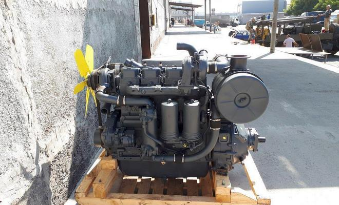 Мотор комбайна