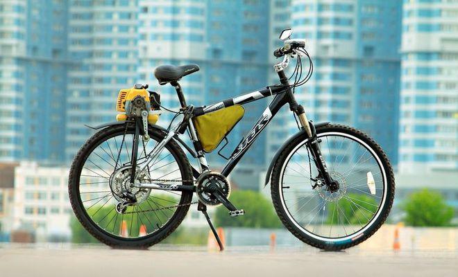 Моторизированный велосипед