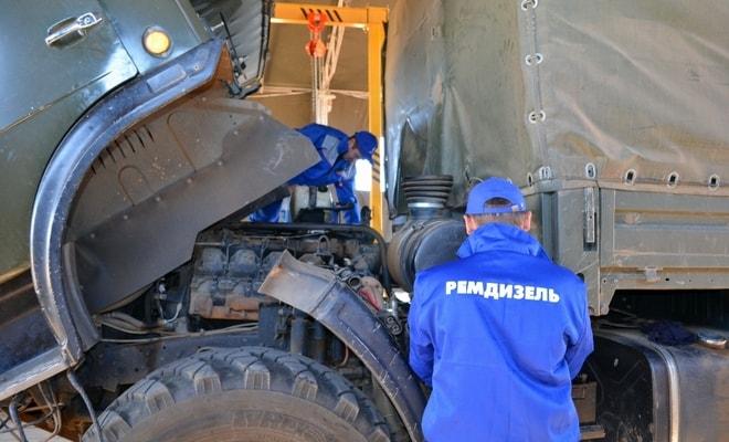 Настройка дизельного грузовика