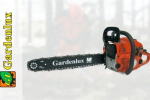 Характеристики и отзывы владельцев немецко-китайских бензопил торговой марки Gardenlux (Гарденлюкс)