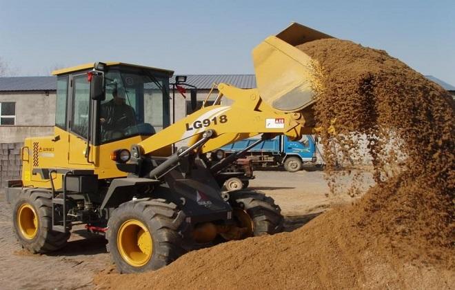 Погрузка песка