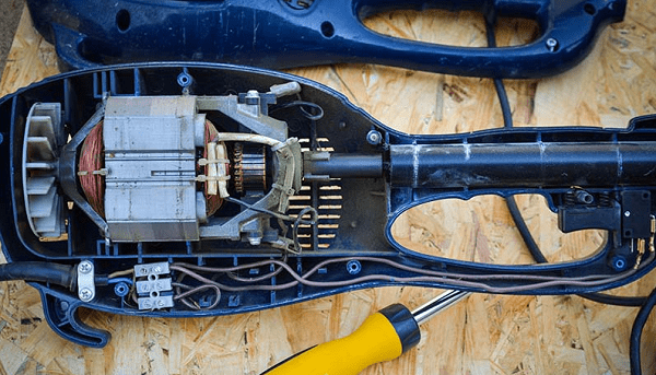 Разборка электротриммера