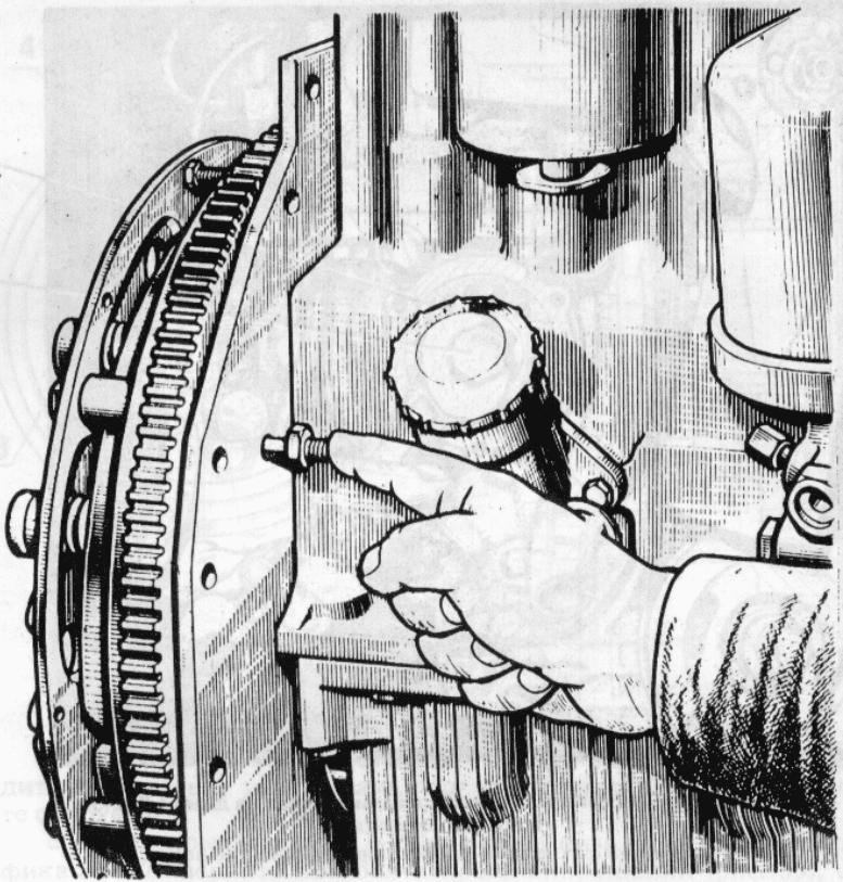 Регулировка на холодном двигателе