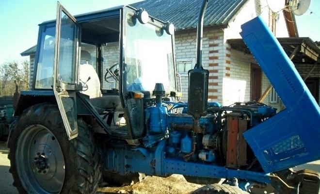 Ремонт трактора Беларус