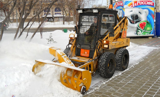 Снегоуборщик Четра