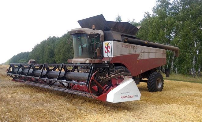 Техника для уборки зерна