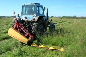 Навесные и прицепные роторные косилки для сельскохозяйственной техники