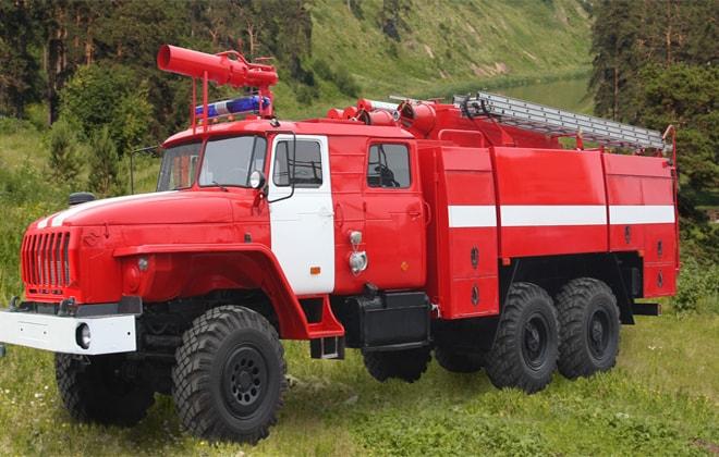 Агрегат для тушения пожара