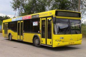 Технические характеристики и варианты комплектаций автобуса МАЗ-103