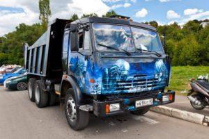 Тюнинг грузовых автомобилей КамАЗ улучшающий внешний вид и заводские характеристики