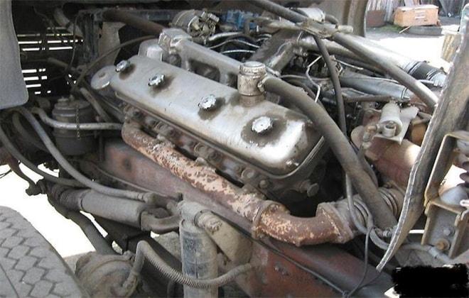 Часть грузовой машины