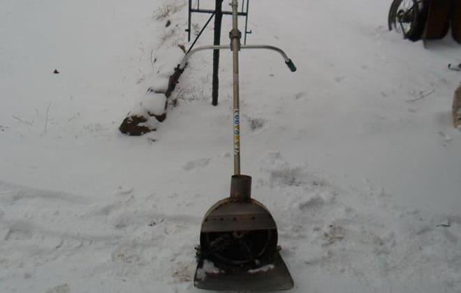 Для уборки снега