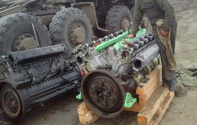 Двигатель Д-12А