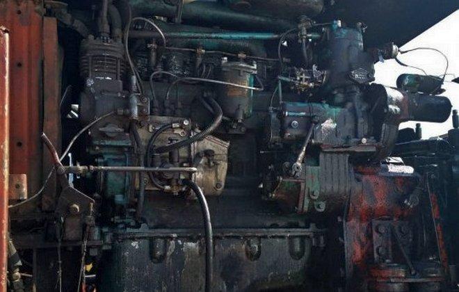 Двигатель одноковшового экскаватора