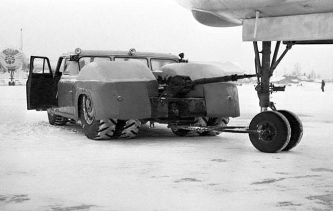 Экспериментальный колесный автомобиль