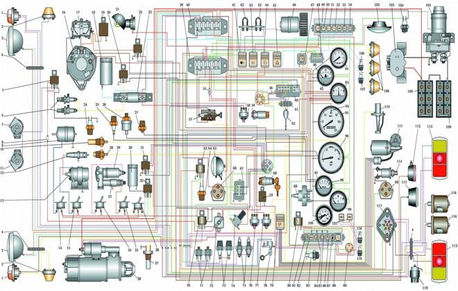 Электрическая система 3