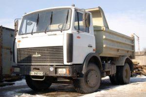 Технические характеристики и устройство самосвала МАЗ-5551