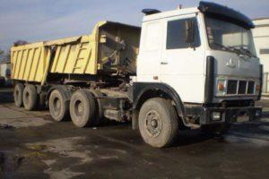 Устройство и характеристики бескапотного грузового автомобиля МАЗ-64229