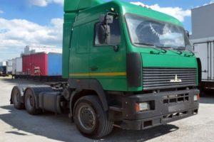 Технические характеристики седельного тягача МАЗ-6430 и 8 популярных модификаций