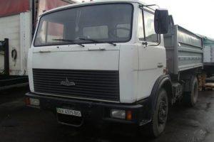 Технические характеристики и устройство грузового самосвала МАЗ-555102