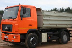 Технические характеристики минских самосвалов МАЗ-5550 и модификаций грузовика