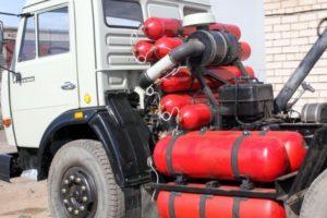 Принцип работы двигателей грузовых автомобилей КамАЗ на метане