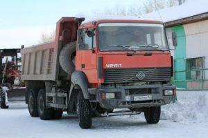 Грузовой самосвал Урал-63685
