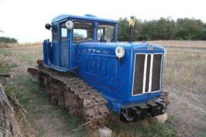 Характеристики популярного советского гусеничного трактора Т-74