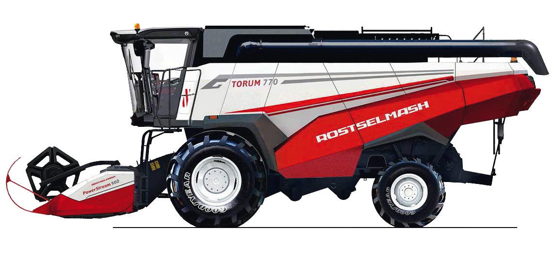Комбайн Торум-770