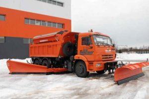 Комбинированные дорожные машины (КДМ) на базе автомобилей КамАЗ