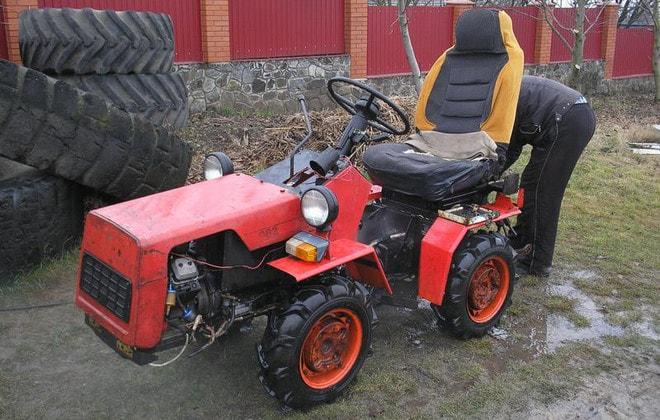 Компактный трактор МТЗ