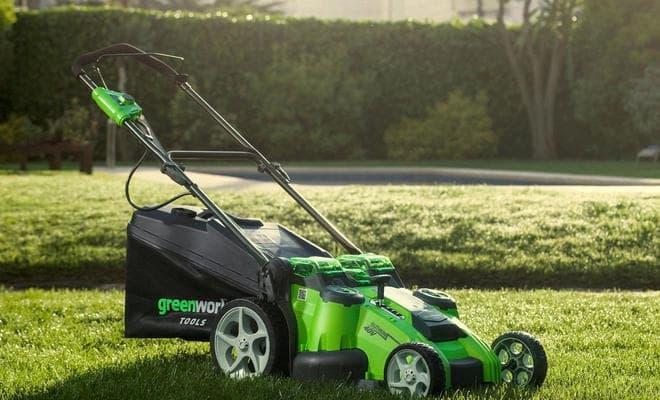 Косилка травы Greenworks