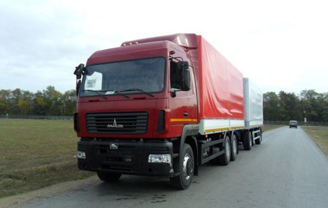 Крупногабаритный грузовик