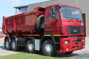 Характеристики бортового грузовика МАЗ-6516 и нескольких популярных модификаций