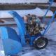 Как сделать снегоуборщик своими руками из бензопилы