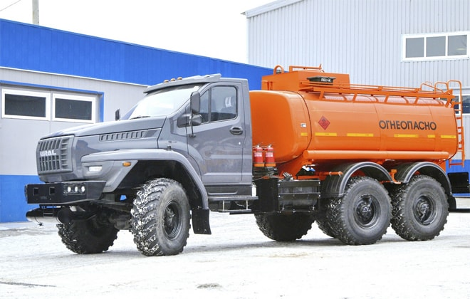 Урал Некст для перевозки бензина