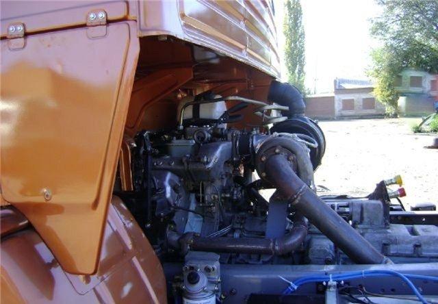 mehanizm pod kapotom - Установка мазовской турбины на камаз