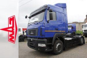 ТОП-14 белорусских седельных тягачей из семейства МАЗ-5440